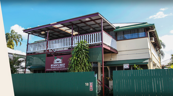 Boutique accommodation right in the heart of Cairns